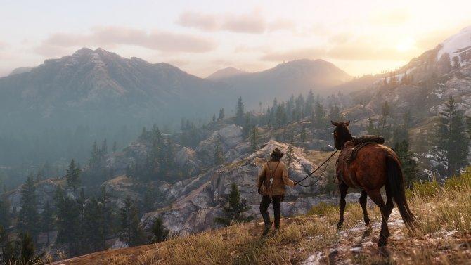 Red Dead Redemption 2 пейзаж