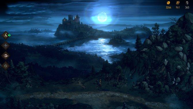 Thronebreaker пейзаж