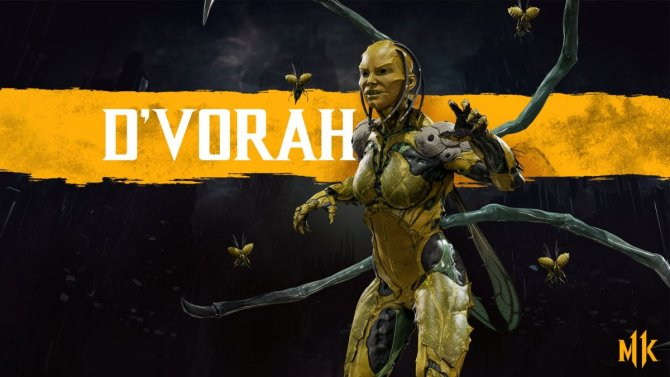 Mortal Kombat 11 Ди'Вора