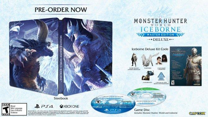 Monster Hunter: World DLC Iceborne издания
