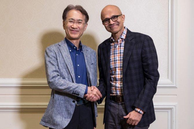 Sony и Microsoft объявили о сотрудничестве
