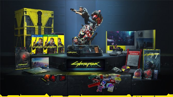 Коллекционное издание Cyberpunk 2077