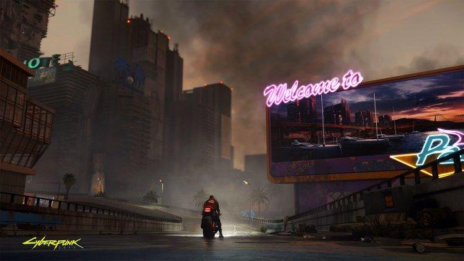 Cyberpunk 2077 Бесплодные земли