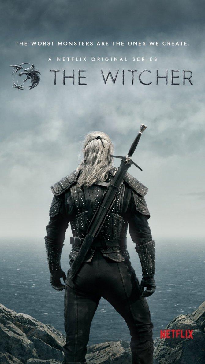 Ведьмак Сериал Постер