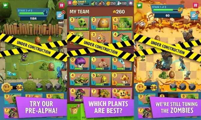 Plants vs Zombies 3 картинка