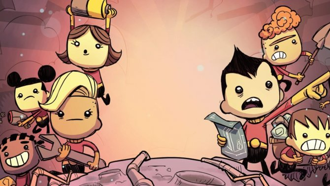 Oxygen Not Included картинка