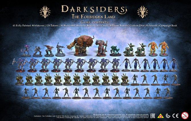 Darksiders: The Forbidden Land фигурки