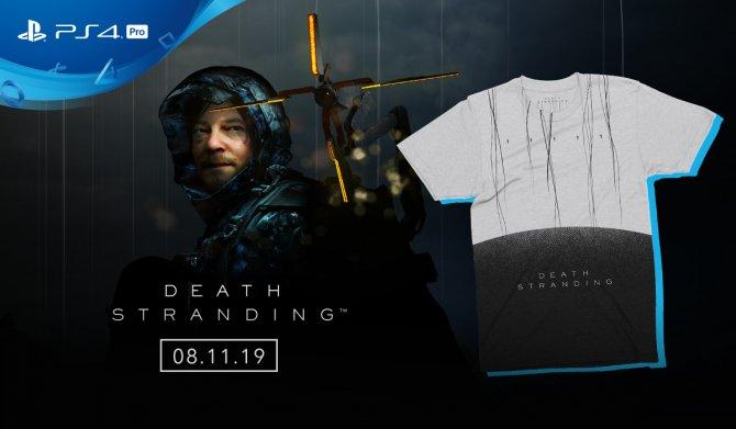 Бонусы за предзаказ коробочной версии Death Stranding