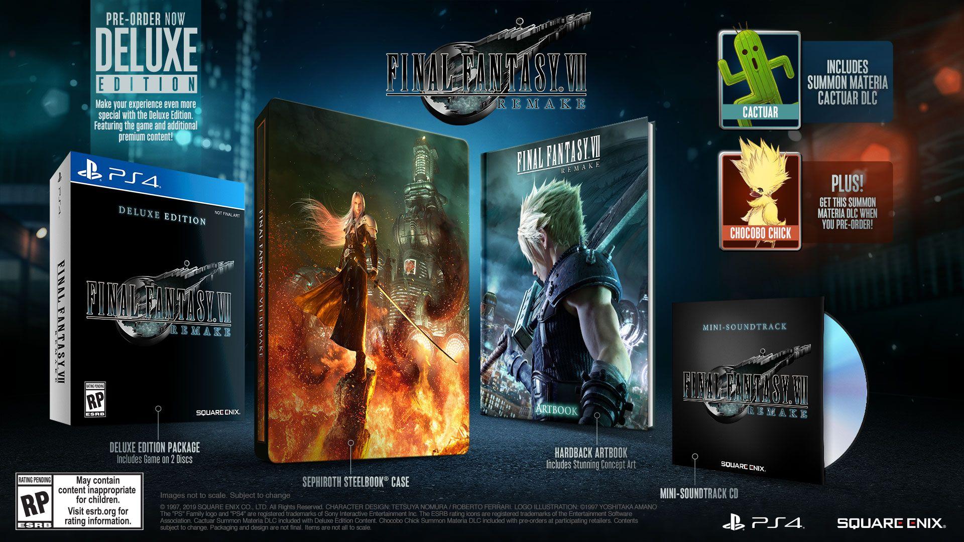 Трейлер Final Fantasy VII Remake с TGS 2019