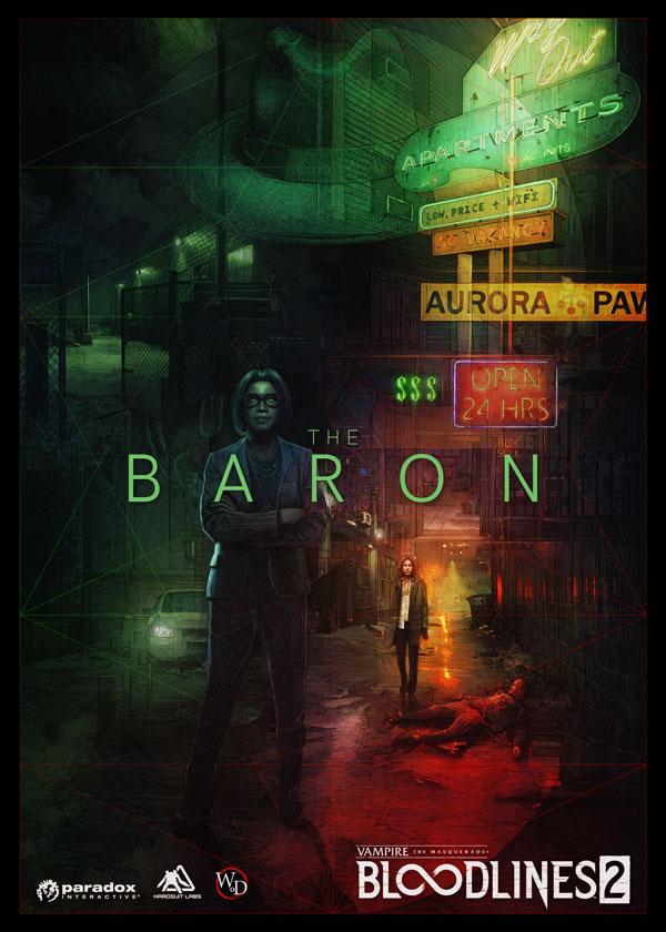 Представлена третья фракция Vampire: The Masquerade - Bloodlines 2 — Бароны