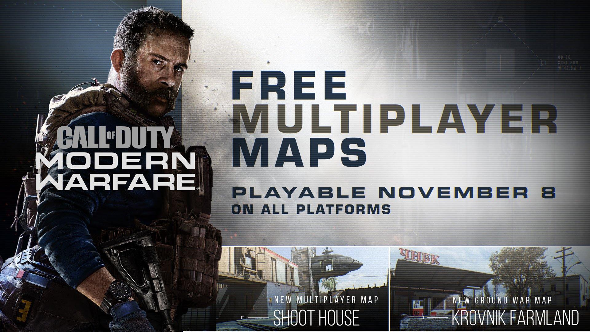 Новый контент и время появления Battle Pass в Call of Duty: Modern Warfare