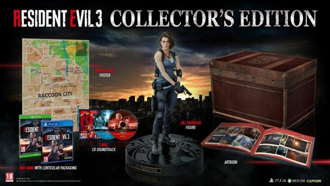 Resident Evil 3 Remake коллекционное издание