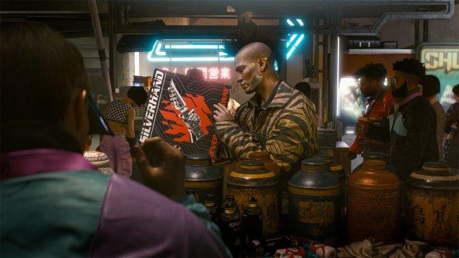 Cyberpunk 2077 новый скриншот 2