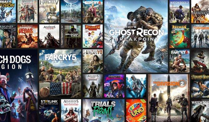 Ubisoft работает над пятью ААА-проектами