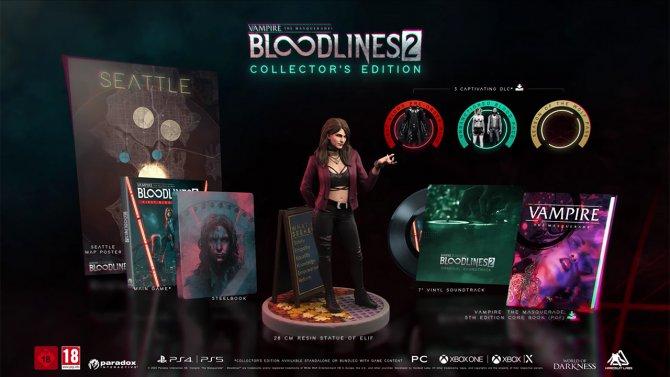 Коллекционное издание Vampire: The Masquerade - Bloodlines 2