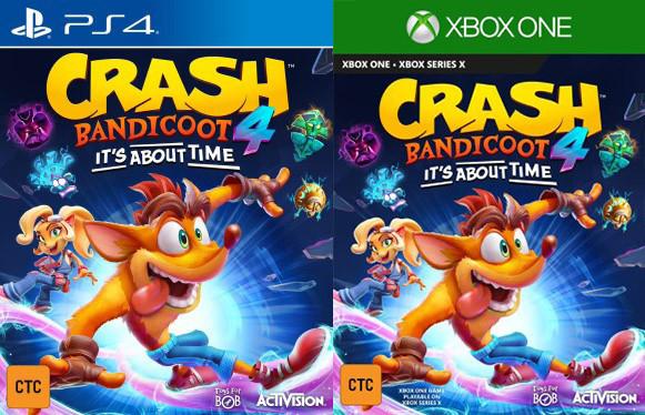 Скоро могут анонсировать Crash Bandicoot 4: It's About Time