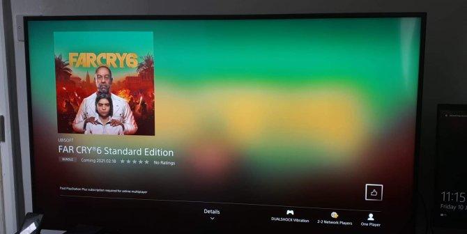 Наличие Far Cry 6 подтверждено