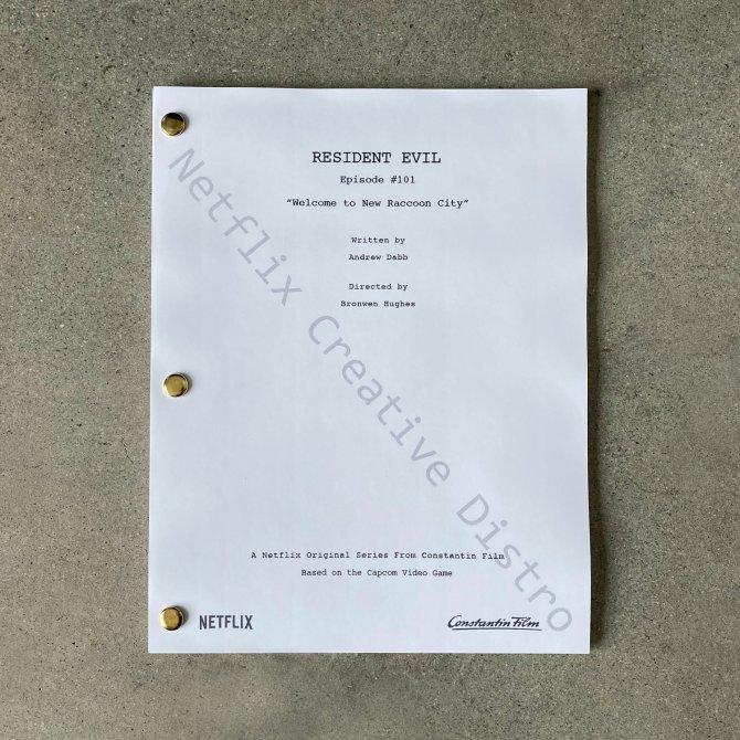Netflix создает сериал Resident Evil