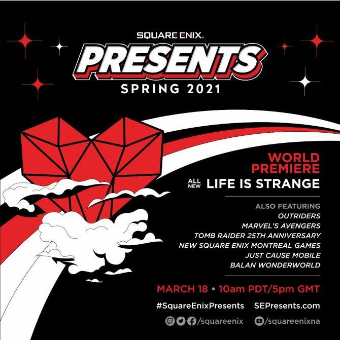 На Square Enix Presents анонсирую новую Life Is Strange