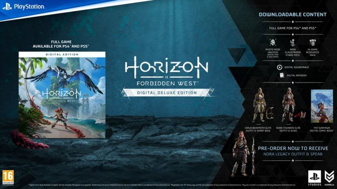Horizon Forbidden West Digital Deluxe Edition