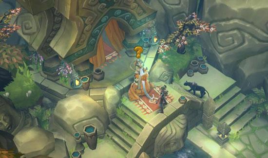 Половина Diablo, половина Warcraft. Итог – оригинальный внешний вид.
