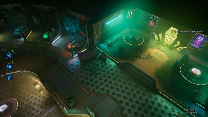 Зал, где люди с помощью специальных устройств входят в видеоигры.