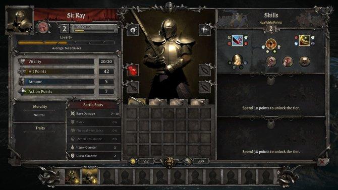 Развивать персонажей можно только в специальном меню между миссиями.