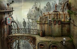 Скриншот из игры Machinarium