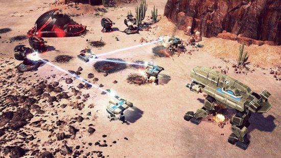 скачать игру Command Conquer 4 - фото 10