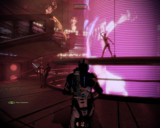 В перерывах между спасениями Галактики Шепард любит оттянуться в клубе