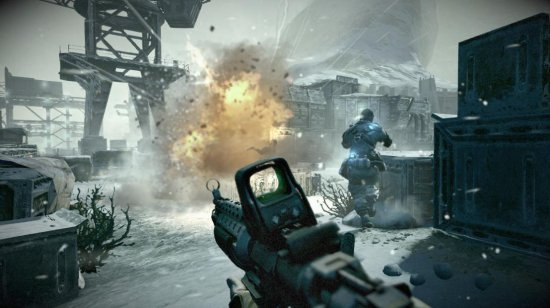 Взрывы в Killzone 3 удались на славу.