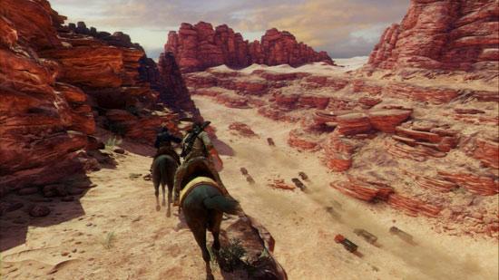 В этой части Дрейк оседлал и коня.