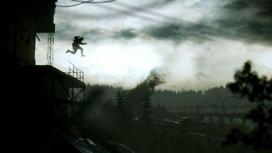 Один из привычных моментов, когда ты прыгаешь неизвестно куда, в надежде сориентироваться уже по пути.