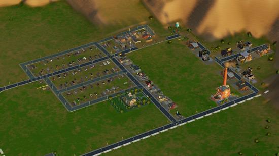 Такая милая деревня. Скоро она станет большим городом.