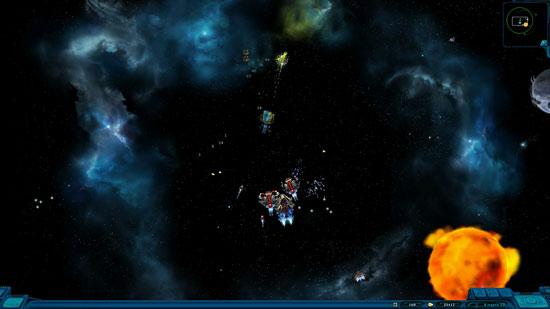 На этом скриншоте представлена битва с доминаторами. Что весьма характерно, доминаторы доминируют.