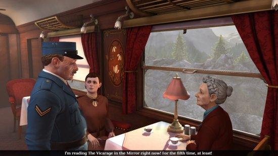 Бабуля, если пенсионного нет - выпрыгивайте из поезда!