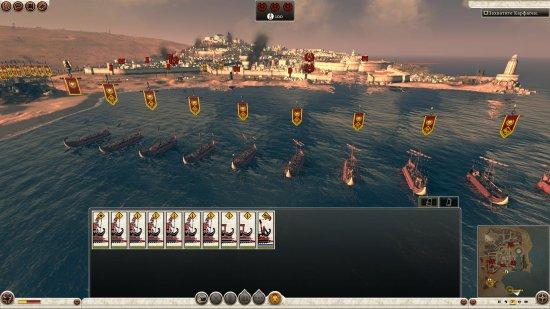 Римский флот готовится зажигать в Карфагене...