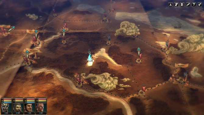 Глобальная карта в игре не изменилась.