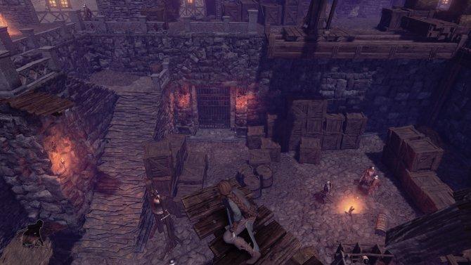 У Shadwen нет уникального графического стиля, тем не менее – выглядит она симпатично.