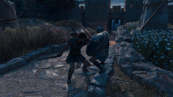 Кассандра – похитительница щитов.
