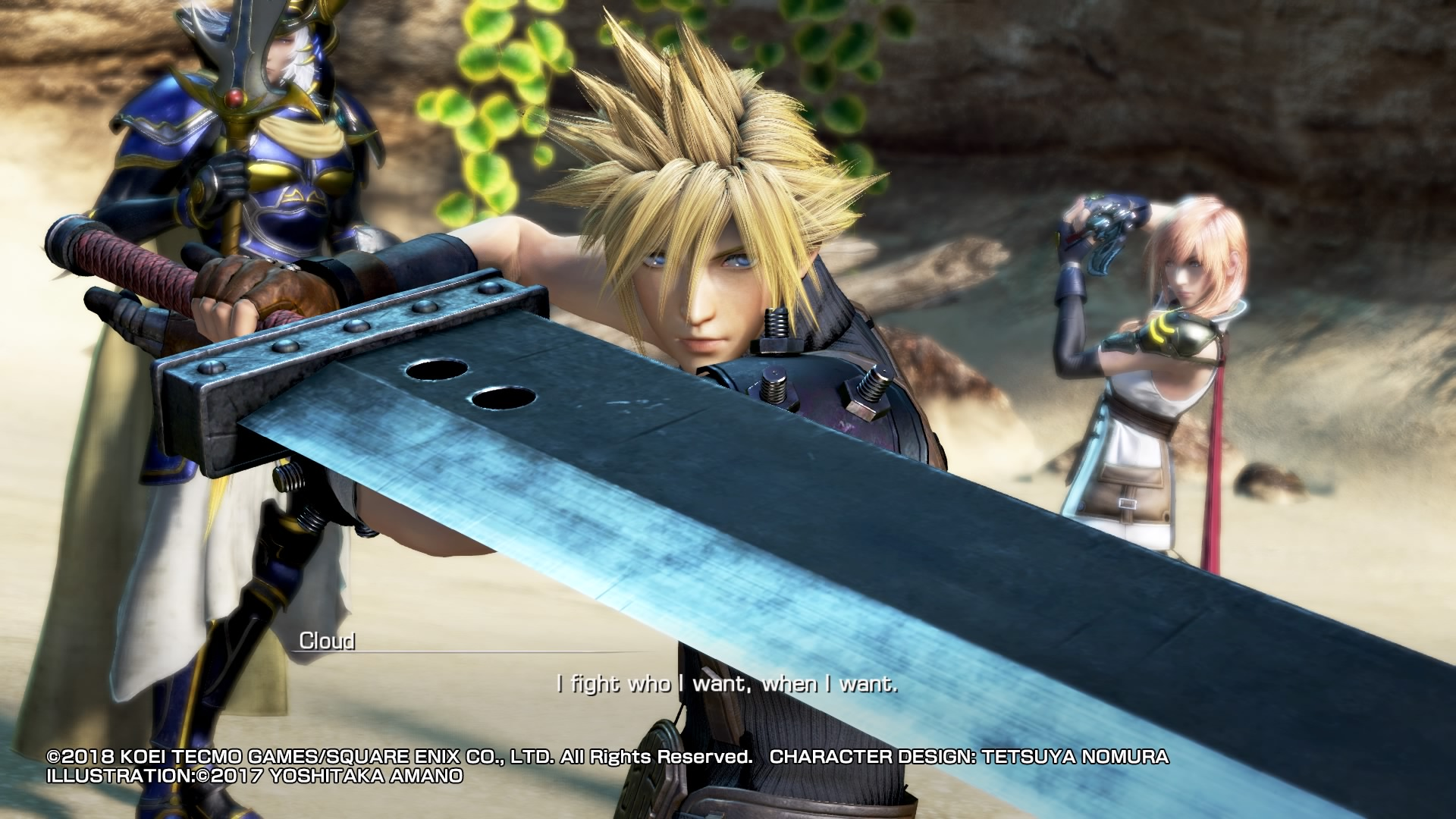 Обзор Dissidia Final Fantasy NT