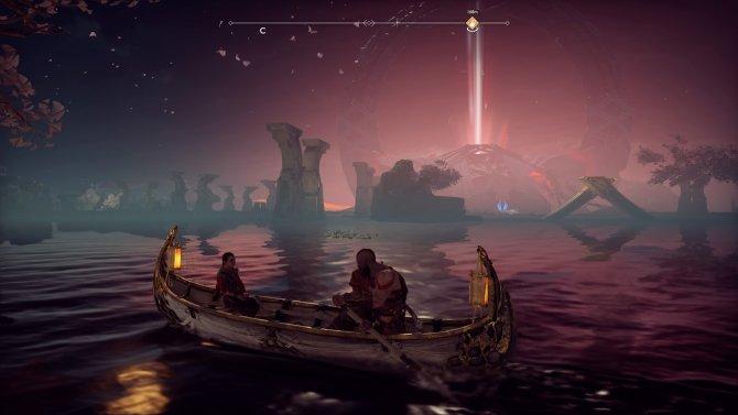 Некоторые детали о мире игры можно услышать только в лодке.