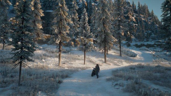 Зима в Орегоне.