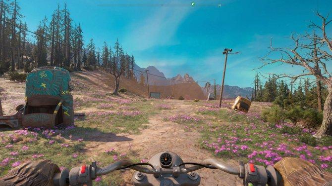 Хороший мотоцикл очень пригодится, расстояния в игре велики.