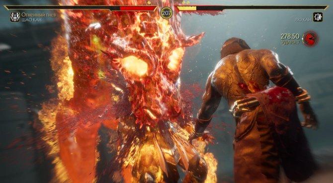 Для Fatal Blow Лю Канг вызывает дракона. Этого зверя мы помним еще по приставке Mega Drive.