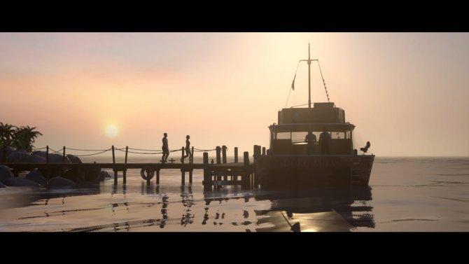 Разработчики точно использовали декорации из первой игры серии Uncharted.