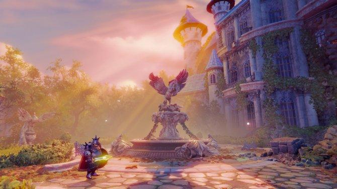 Герои ищут принца Селиуса в его родовом имении.