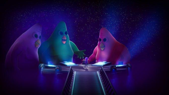 Вот эти три нелепые курицы вершат судьбу Вселенной.