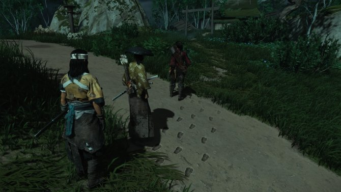 Нередко во время заданий Дзина сопровождают напарники, но они не сильно помогают.