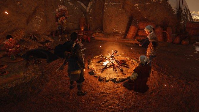 Лагерей с неигровыми персонажами в мире немного и жизнь в них имитируется довольно посредственно.